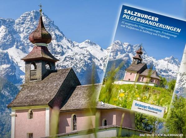 Das neue Pilgerbuch ist jetzt erhältlich. Bild: SN/ISTOCK AUERIMAGES