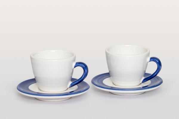 Gmundner Keramik Espresso Set 4-teilig